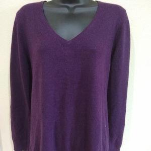 V-Neck Cashmere Sweater nwt